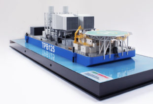 Trade Show Model Of The TPB 125 Powerbarge