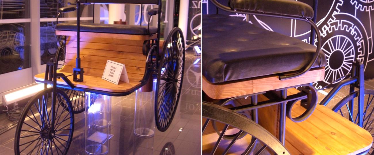 Mercedes evolution model makers bristol amalgam model for Green room retail