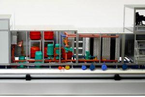 Exhibition Model Of The CC3 Temperature Regulation Unit