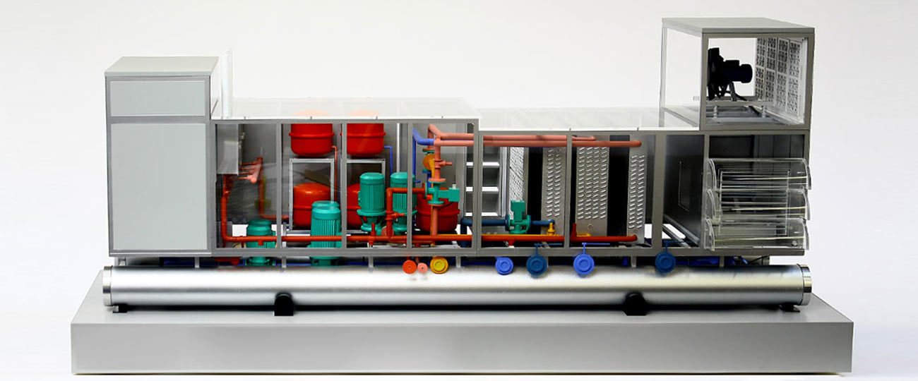 Exhibition Model Of The CC3 Temperature Regulation Unit