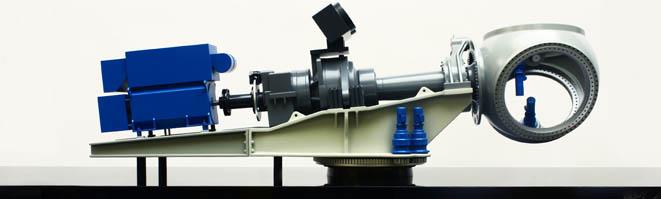 Exhibition design model. Seawind