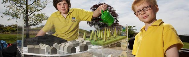 Exhibition Model Water Runoff