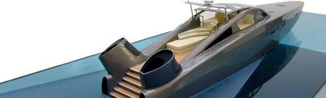 Tender Boat Model