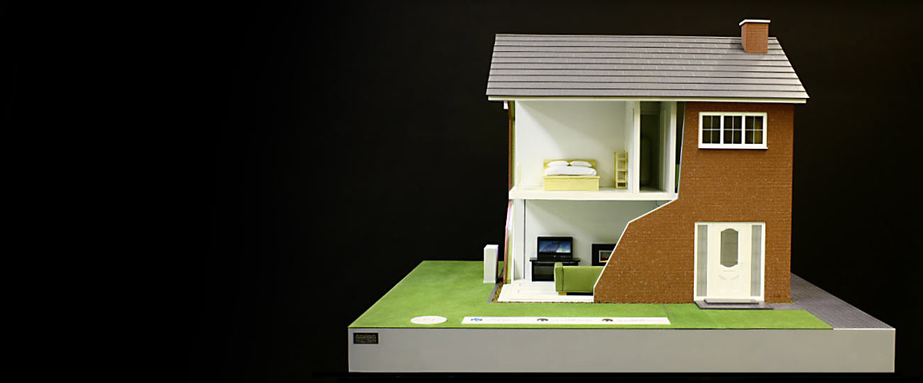 Solar Energy House Model Makers Bristol Amalgam Model
