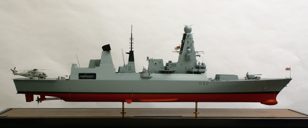 Ship Model – HMS Daring