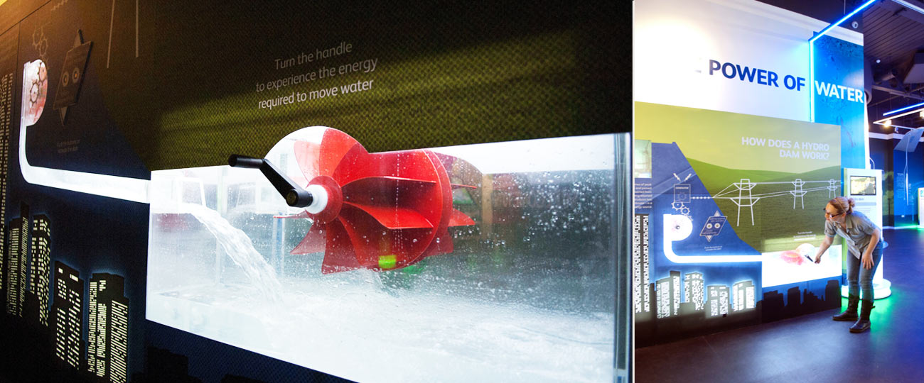 Hydroelectric Generator Exhibit