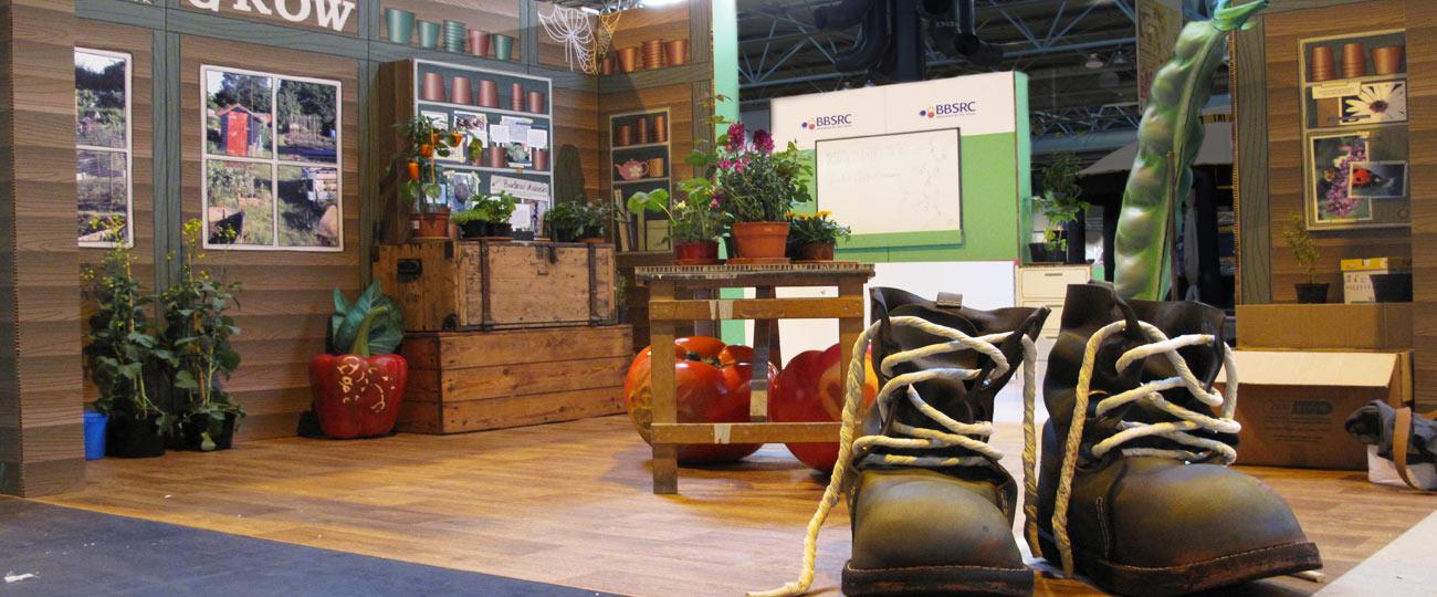 BBC Gardener's World Live Exhibit