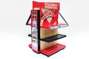 Point Of Sale Display For Stolichnaya Vodka