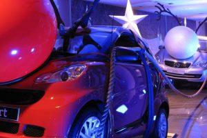 Mercedes-Benz Christmas Window Display
