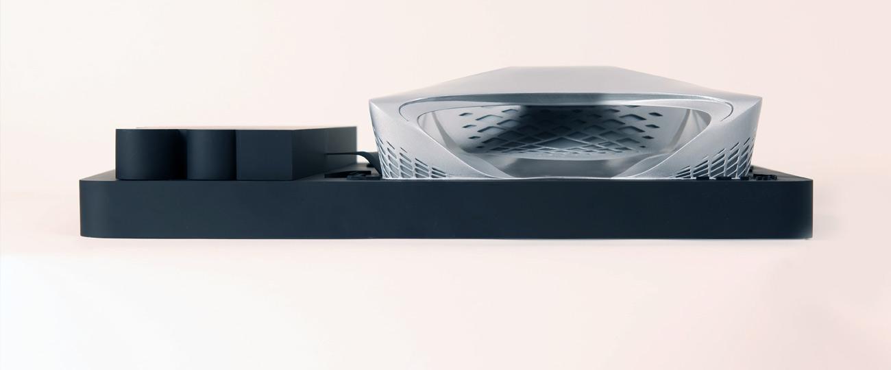 Zaha Hadid Architectural Model