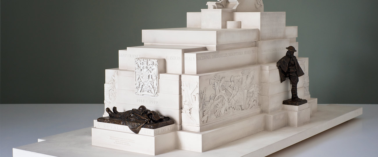 Exhibition Model Making -Royal-Artilliery-Monument-II