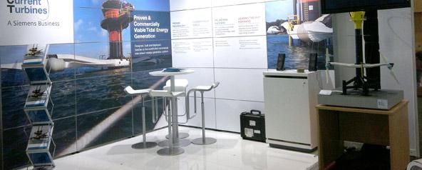 Seagen Tidal Turbine Model At The ICOE 2012