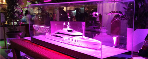 Superyacht Model Returns To Monaco Yacht Show