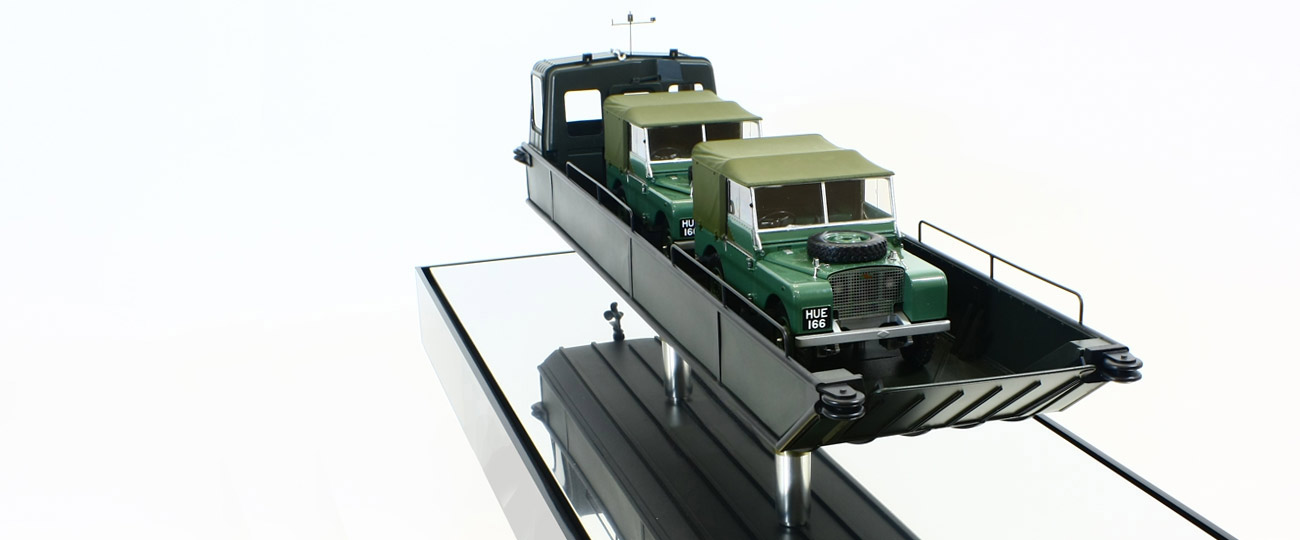 Marine Model Making Dyson Seatruck