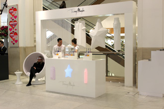 Perfume Bottle Display For Thierry Mugler At Selfridges