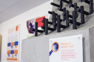EDF Energy Exhibition Display. Re-enforced Concrete Section