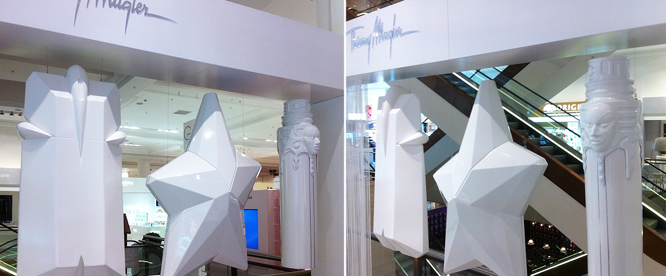 Thierry Mugler Point Of Sale Display