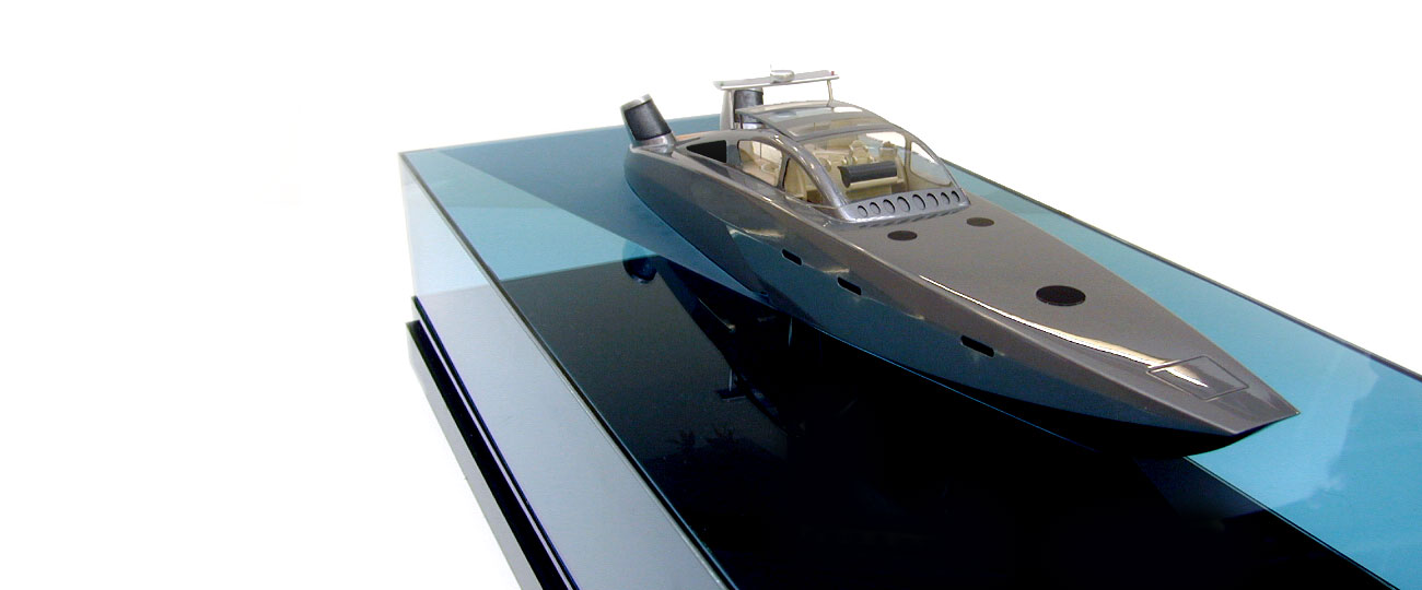 70-70 Tender Boat Model