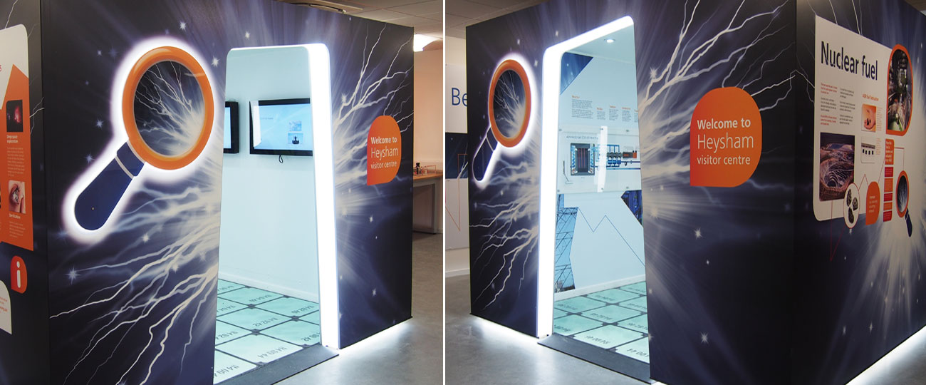 EDF Energy Exhibition Pod