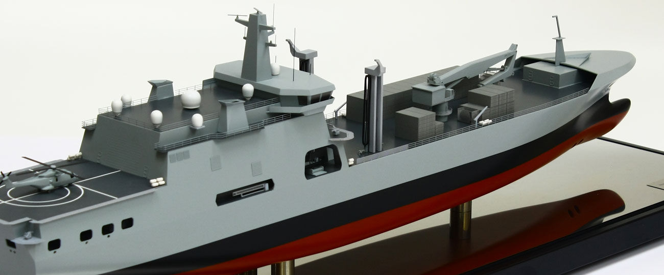 BMT Ship Model IV