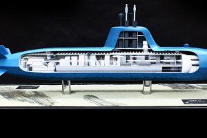 Naval Model Of BMT Defence Services Vidar® – 7