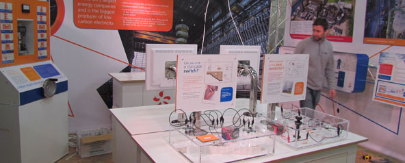 EDF Energy Touring Exhibit