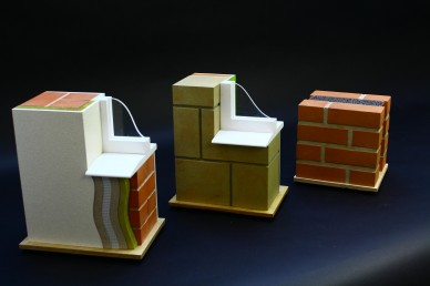 Scale Models of building insulation