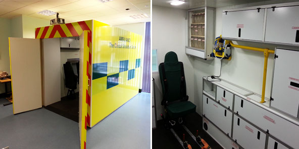 Ambulance Medical Training Aid At University Of South Wales, Pontypridd