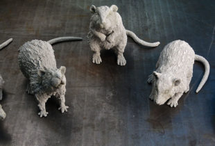 BBC Atlantis Rat Sculpts