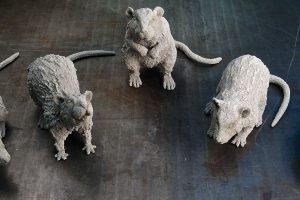 BBC Atlantis Rat Sculpts
