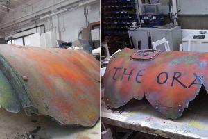 Submarine Prop – BBC Atlantis Oracle Hull