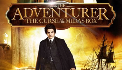 'The Adventurer: The Curse Of The Midas Box' Clip And Film Props