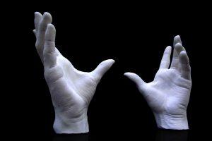 Julio Bashmore 'Hands Of God' Stopframe Props