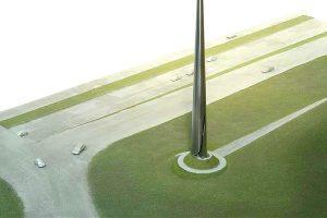 David Harber Black Dog 'Spike' Architectural Exhibition Model
