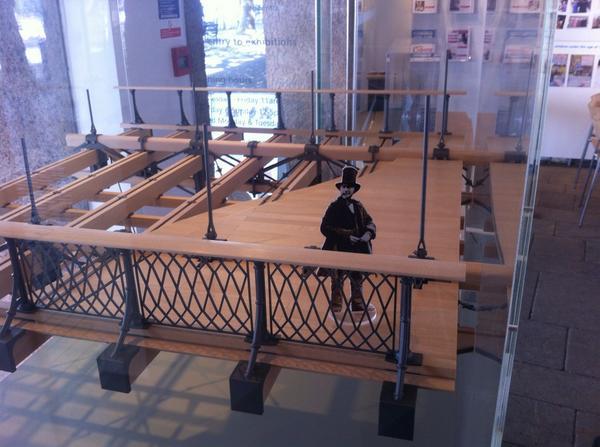 Educational models Clifton suspension bridge
