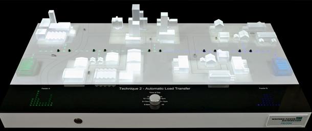 CNC display model