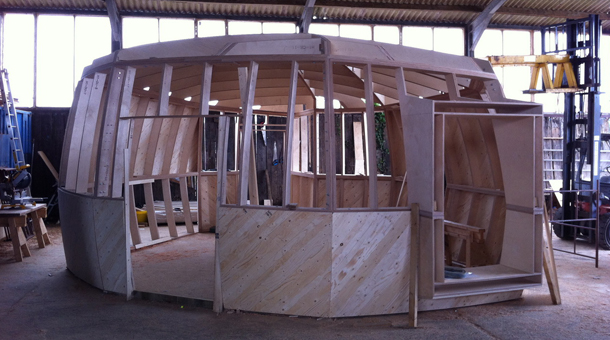 CNC machining yurt