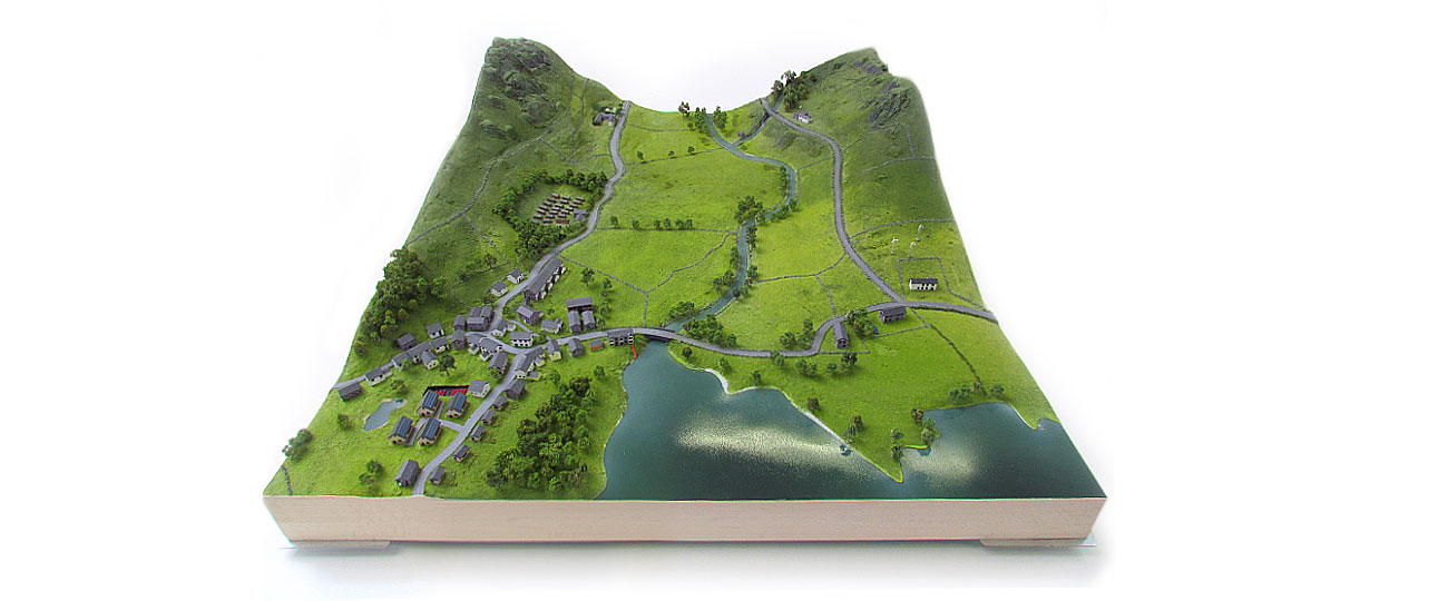 Lake District Landscape Model