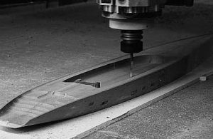 Marine model CNC machining