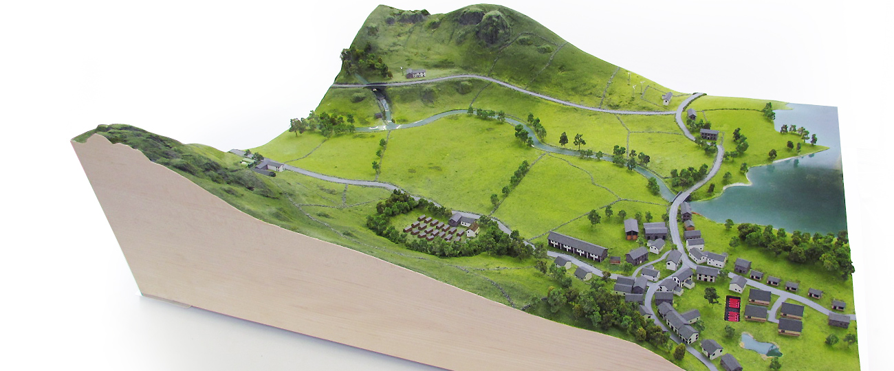 Architectural Landscape Display Model