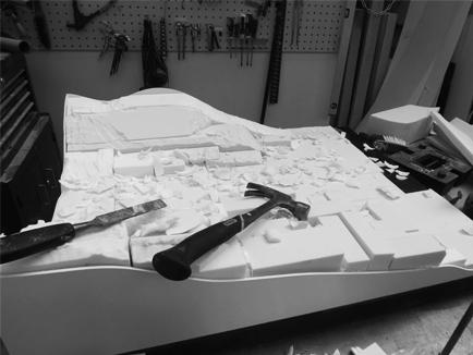 Lake District Landscape Model Model Makers Bristol