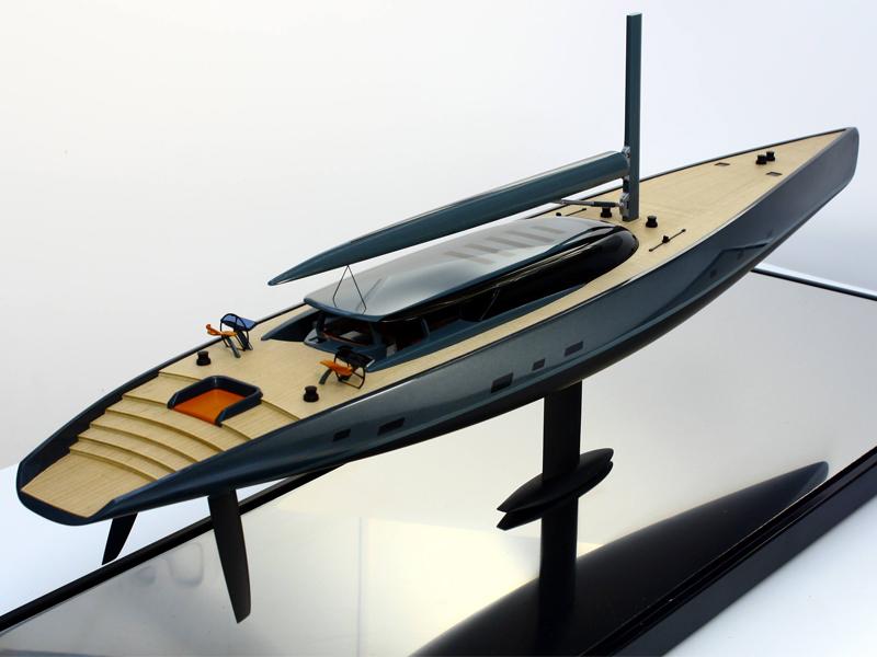 Superyacht model-Dubois Beast 58M