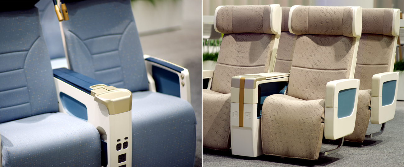 Full Size Mock Ups Of Aircraft Seats