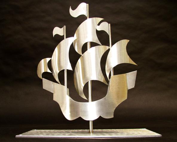 3d Exhibition Stand : Blue peter ship sculpture model makers bristol amalgam