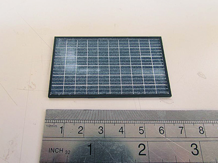 model solar panel