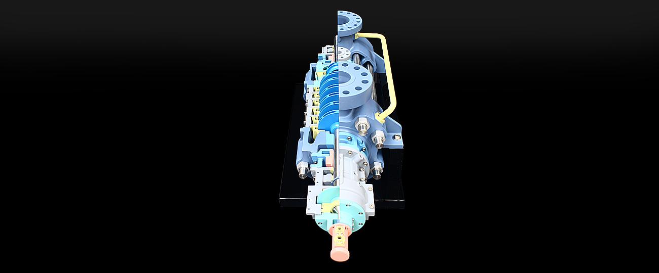 SPX Flow Technology CEP Cutaway Display Model