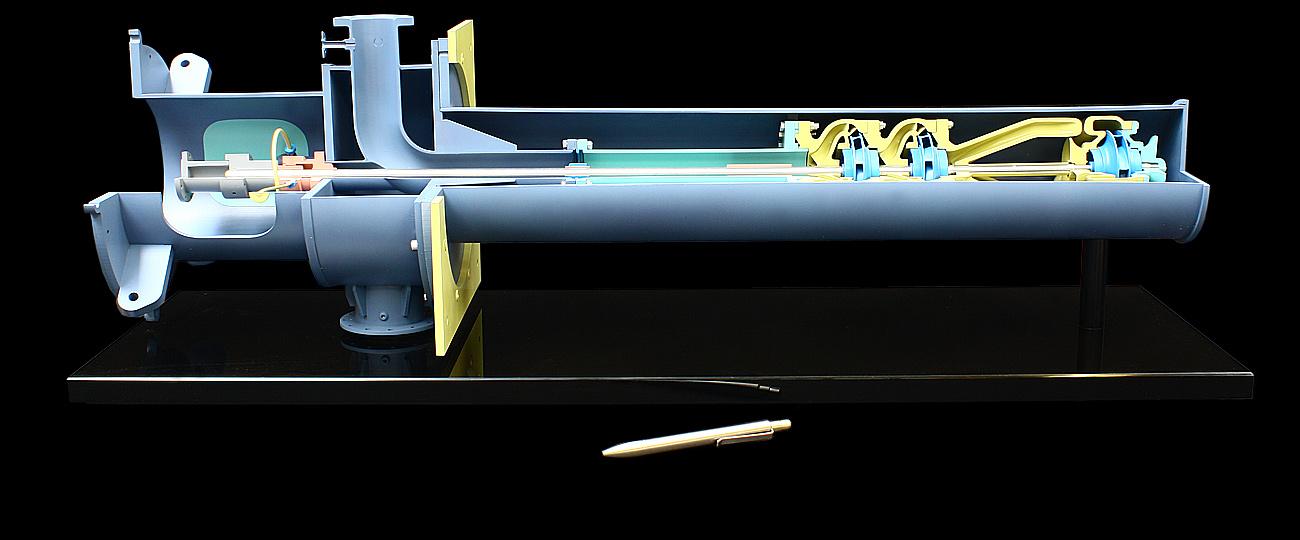 Cutaway Display Model