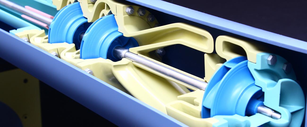 Engineering Cutaway Display Model