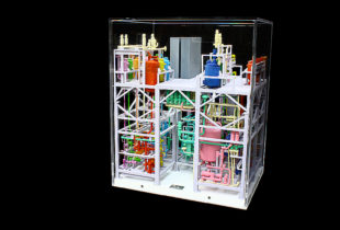 SPX Flow Technology Continuous Processing Industrial Display Model