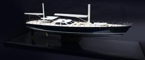 Private yacht model